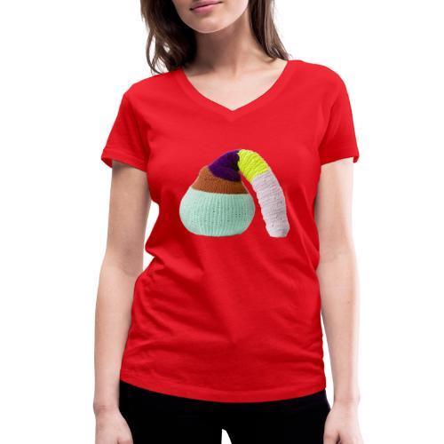 by Stine Leth - Økologisk Stanley & Stella T-shirt med V-udskæring til damer