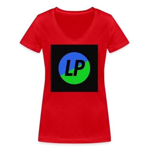 Lil Planet Logo Merchandise - Women's Organic V-Neck T-Shirt by Stanley & Stella