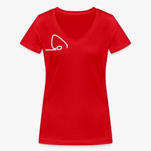 iYpsilon BodenTurner - Frauen Bio-T-Shirt mit V-Ausschnitt von Stanley & Stella