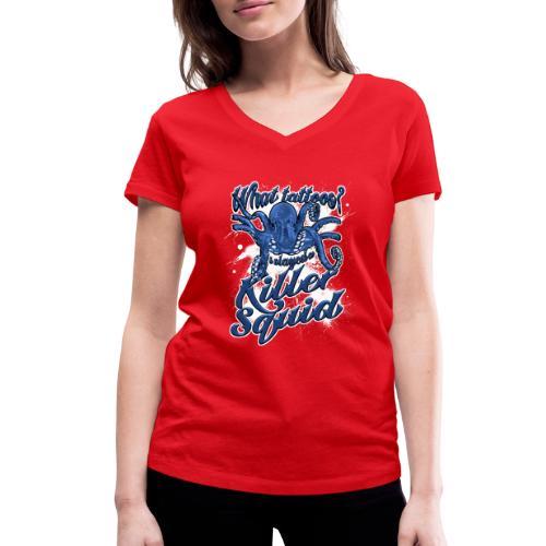 What tattoos? - Vrouwen bio T-shirt met V-hals van Stanley & Stella