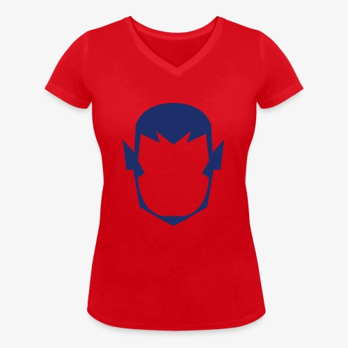 MASK 4 SUPER HERO - T-shirt bio col V Stanley & Stella Femme