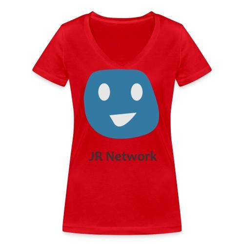JR Network - Women's Organic V-Neck T-Shirt by Stanley & Stella