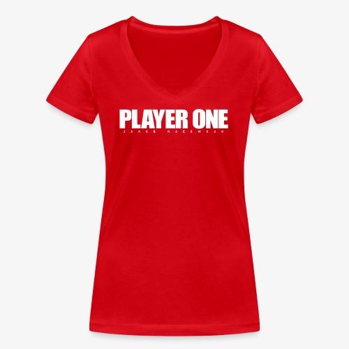 GET READY PLAYER ONE! - Økologisk Stanley & Stella T-shirt med V-udskæring til damer