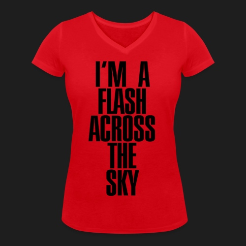 My Name Is THUNDER - T-shirt ecologica da donna con scollo a V di Stanley & Stella