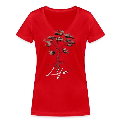 Notre mère Nature - T-shirt bio col V Stanley & Stella Femme