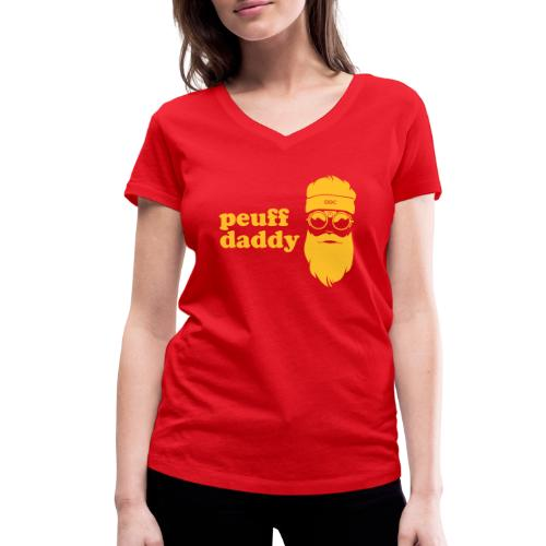 Peuff daddy - T-shirt bio col V Stanley & Stella Femme
