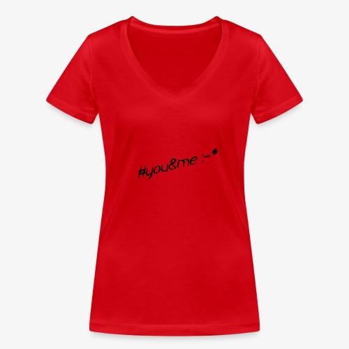 youme - Frauen Bio-T-Shirt mit V-Ausschnitt von Stanley & Stella
