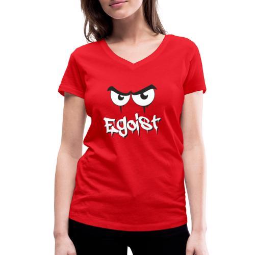 Egoist - Frauen Bio-T-Shirt mit V-Ausschnitt von Stanley & Stella
