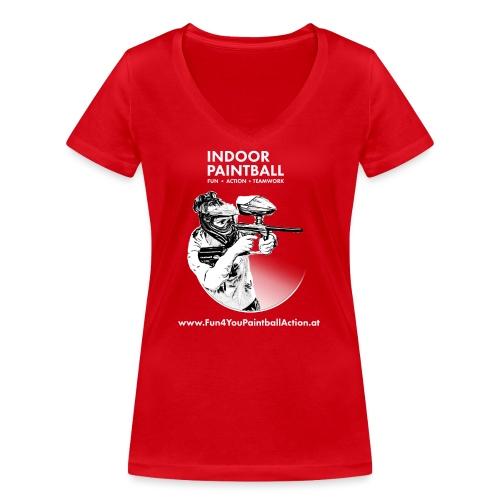 F4Y19 10 T Shirts light - Frauen Bio-T-Shirt mit V-Ausschnitt von Stanley & Stella
