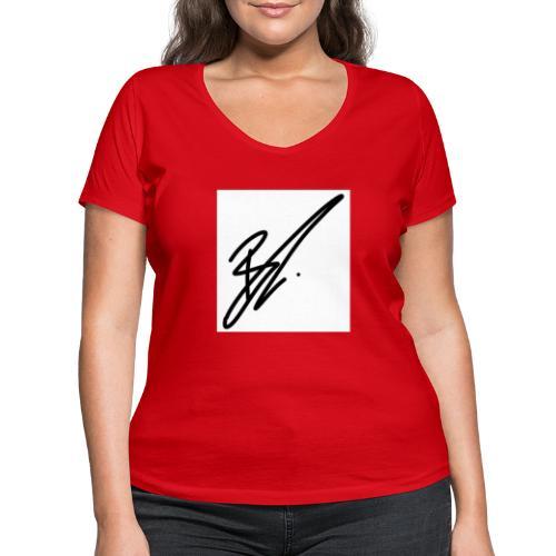 coole moderneres Zeichen zu einem super preis - Frauen Bio-T-Shirt mit V-Ausschnitt von Stanley & Stella