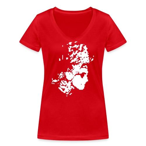 henkbolt - Frauen Bio-T-Shirt mit V-Ausschnitt von Stanley & Stella