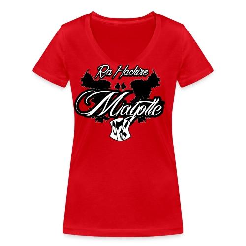 RA HACHIRI - T-shirt bio col V Stanley & Stella Femme