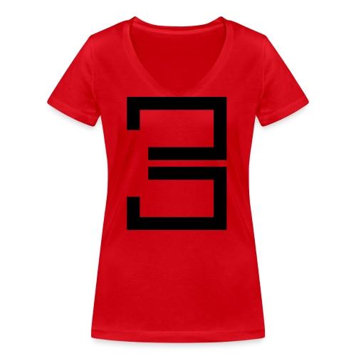 3 - Women's Organic V-Neck T-Shirt by Stanley & Stella