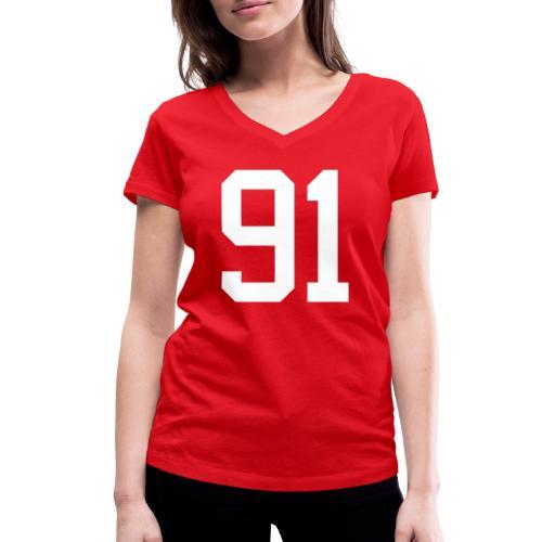 91 SPITZER Kevin - Frauen Bio-T-Shirt mit V-Ausschnitt von Stanley & Stella