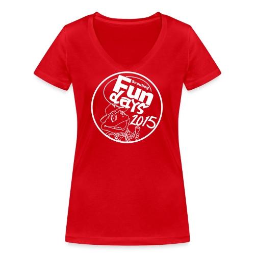 zonder crew - Vrouwen bio T-shirt met V-hals van Stanley & Stella