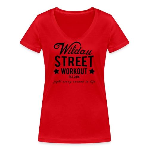 Wildau Street Workout Girls Shirt - Frauen Bio-T-Shirt mit V-Ausschnitt von Stanley & Stella