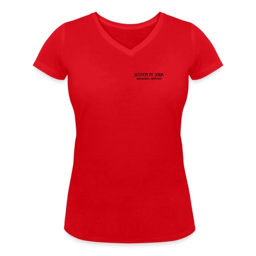 Goldgasse 9 - Front - Women's Organic V-Neck T-Shirt by Stanley & Stella