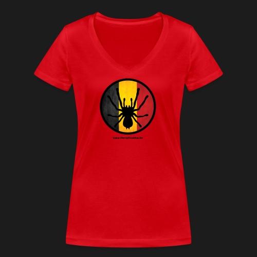 T shirt design - Women's Organic V-Neck T-Shirt by Stanley & Stella
