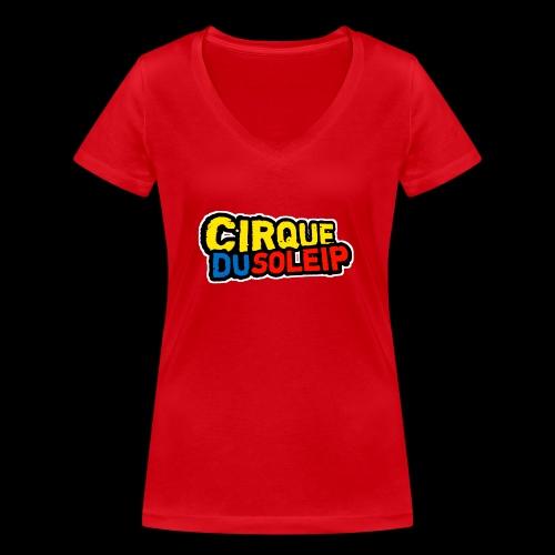Cirque Du Soleip Letters - Vrouwen bio T-shirt met V-hals van Stanley & Stella