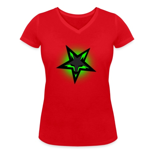 KDutch Logo - Women's Organic V-Neck T-Shirt by Stanley & Stella