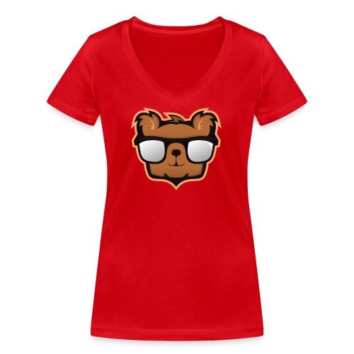 KimpolinoBjörnen - Ekologisk T-shirt med V-ringning dam från Stanley & Stella