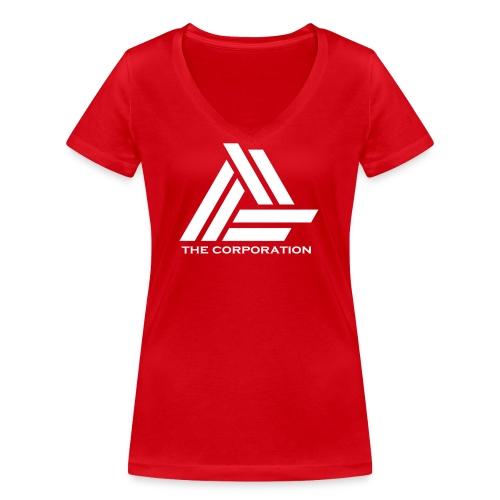wit metnaam keertwee png - Women's Organic V-Neck T-Shirt by Stanley & Stella