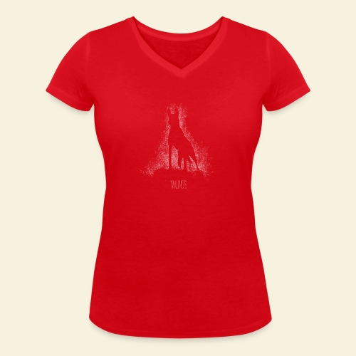 Malinois - Frauen Bio-T-Shirt mit V-Ausschnitt von Stanley & Stella