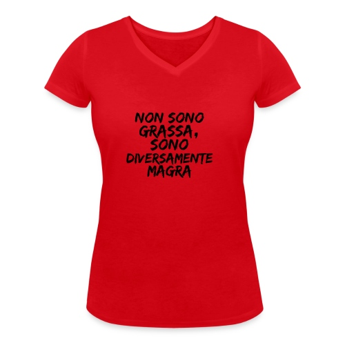 sono perfetta - T-shirt ecologica da donna con scollo a V di Stanley & Stella