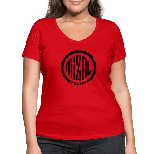 Mizal Touch Certified - Ekologiczna koszulka damska z dekoltem w serek Stanley & Stella