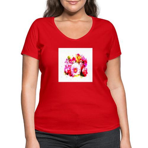 Shoppiful - T-shirt ecologica da donna con scollo a V di Stanley & Stella