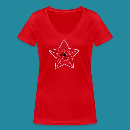 étoile d'araignée - T-shirt bio col V Stanley & Stella Femme
