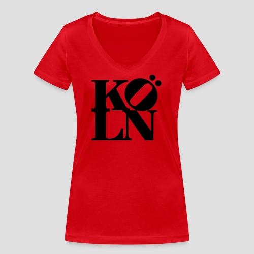 KOELN - Frauen Bio-T-Shirt mit V-Ausschnitt von Stanley & Stella