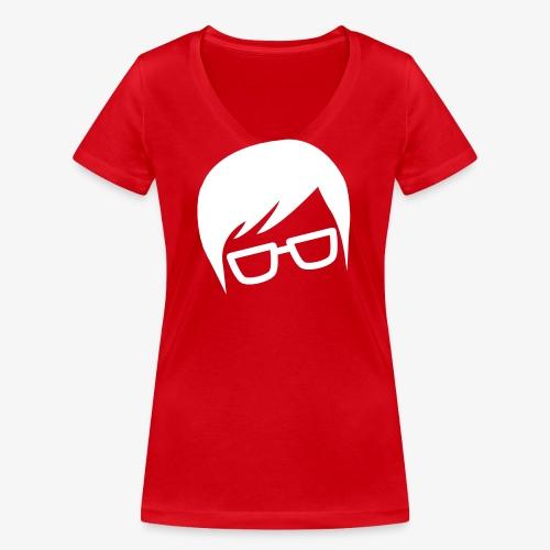 Logo de YubiGeek - T-shirt bio col V Stanley & Stella Femme