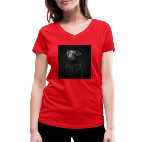 Lady Dog - Frauen Bio-T-Shirt mit V-Ausschnitt von Stanley & Stella