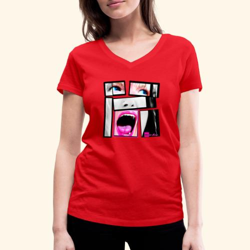 expo26b2 Unbreakable - T-shirt bio col V Stanley & Stella Femme