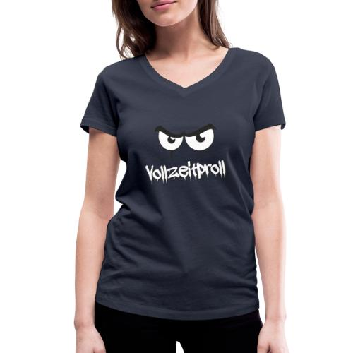 Vollzeitproll - Frauen Bio-T-Shirt mit V-Ausschnitt von Stanley & Stella