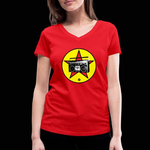 The Revolution Rock - T-shirt bio col V Stanley & Stella Femme