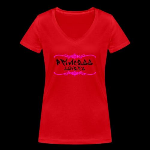 princesse lover's - T-shirt bio col V Stanley & Stella Femme