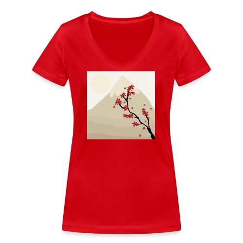 fuji - T-shirt bio col V Stanley & Stella Femme