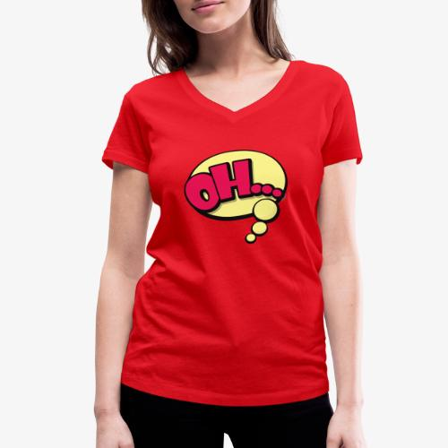 Serie Animados - Camiseta ecológica mujer con cuello de pico de Stanley & Stella