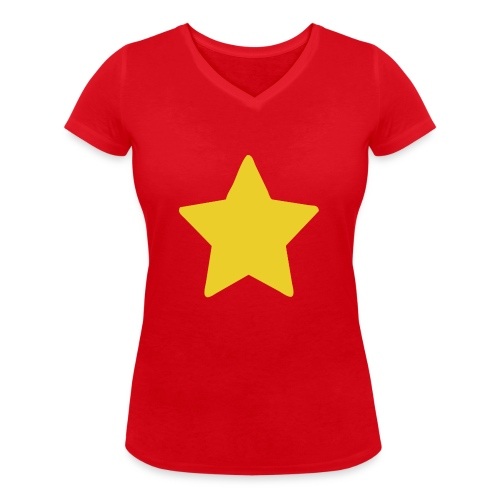 Steven Universe's T-Shirt - Camiseta ecológica mujer con cuello de pico de Stanley & Stella