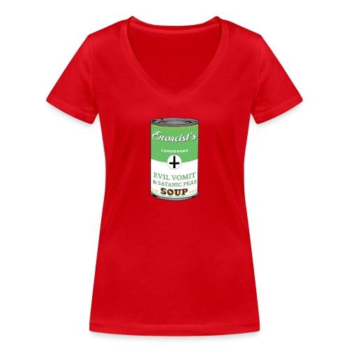 Exorcist's soup - T-shirt bio col V Stanley & Stella Femme