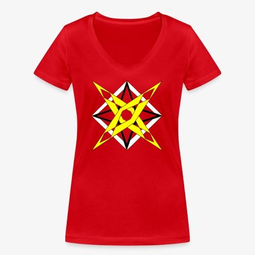 dessin 5 - T-shirt bio col V Stanley & Stella Femme