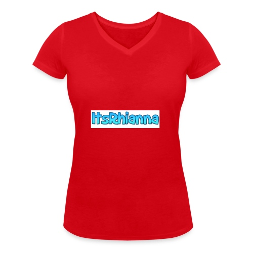 Merch - Women's Organic V-Neck T-Shirt by Stanley & Stella