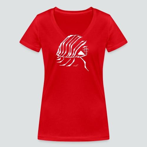 Assel png - Frauen Bio-T-Shirt mit V-Ausschnitt von Stanley & Stella
