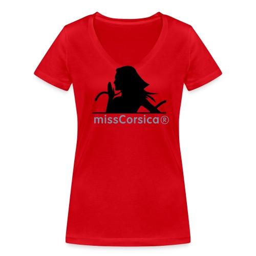 missCorsica 2B - T-shirt bio col V Stanley & Stella Femme