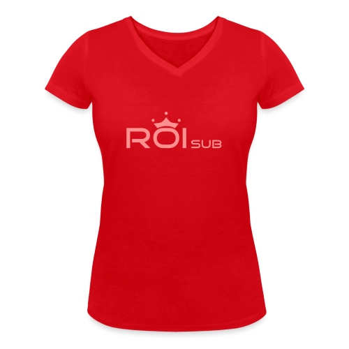 roisub - T-shirt ecologica da donna con scollo a V di Stanley & Stella