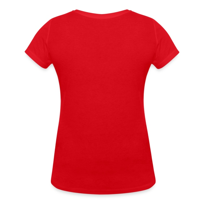 Vorschau: Die mit dem Hund geht - Frauen Bio-T-Shirt mit V-Ausschnitt von Stanley & Stella