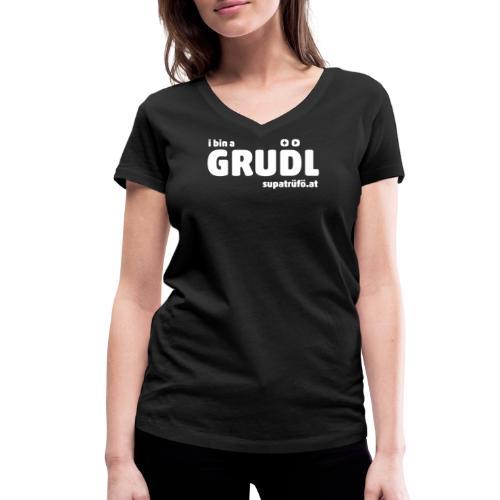 supatrüfö grudl - Frauen Bio-T-Shirt mit V-Ausschnitt von Stanley & Stella