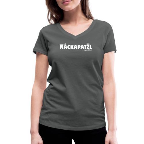 supatrüfö nackapatzl - Frauen Bio-T-Shirt mit V-Ausschnitt von Stanley & Stella